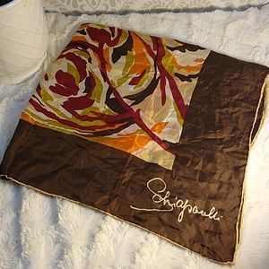Vintage Shaiparelli silk scarf